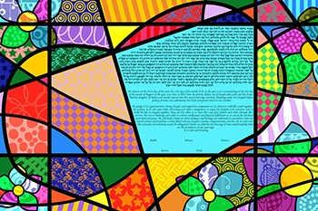 The Heart Shaped World Ketubah